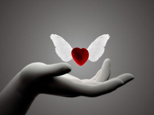 """不是啦~我的心很大 但""""想要""""的心很小 一個簡單的祝福 一個簡單的邀約... 心 小 ~2011"""